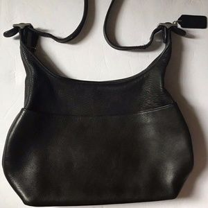Coach Black Leather Vintage Legacy Hobo 9058